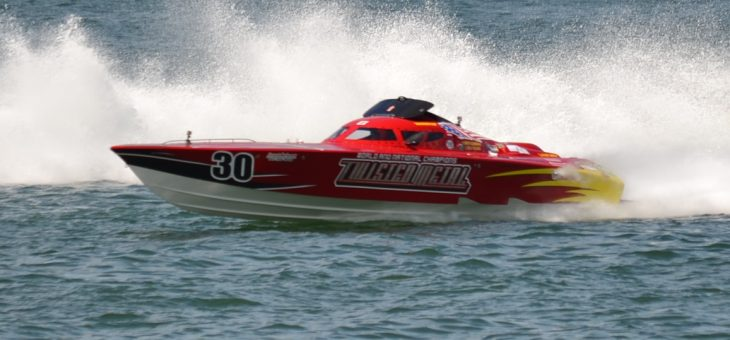 Super Boat Races at Clearwater Beach
