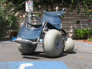 Clearwater Beach All Terrain Wheelchair Rentals