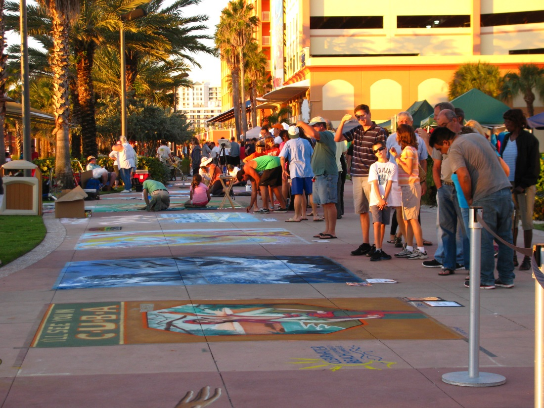 Beach Walk Chalk Walk