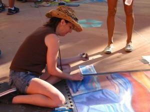 Clearwater Beach Chalk Walk Festival 2013