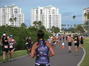TriRock triathletes Clearwater Beach