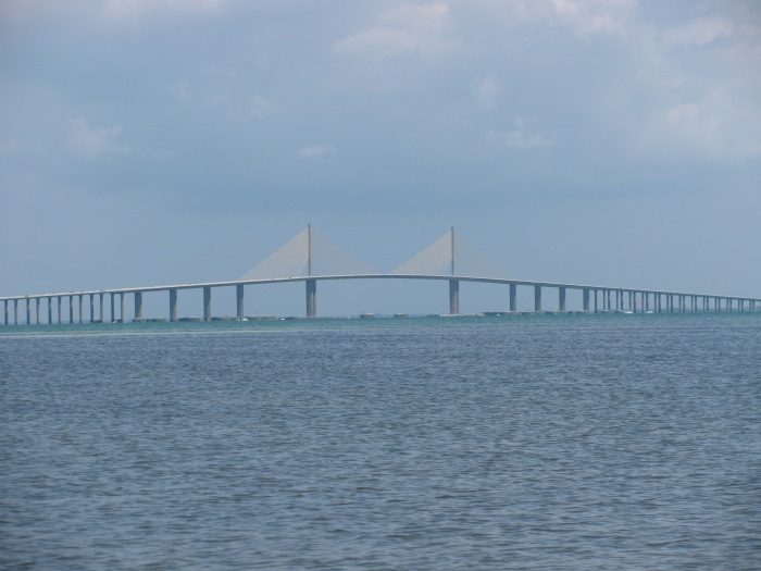 Best View of the Sunshine Skyway Bridge