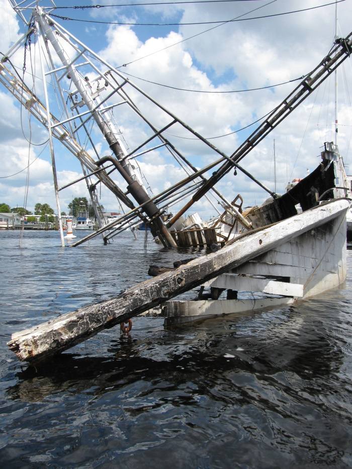 Gulf Coast Sunken Ship