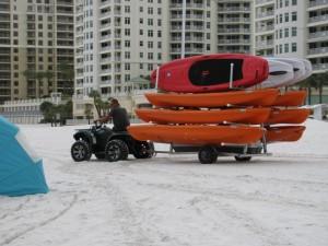 Clearwater Beach kayak rentals