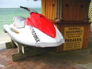 Clearwater Beach jet ski rentals