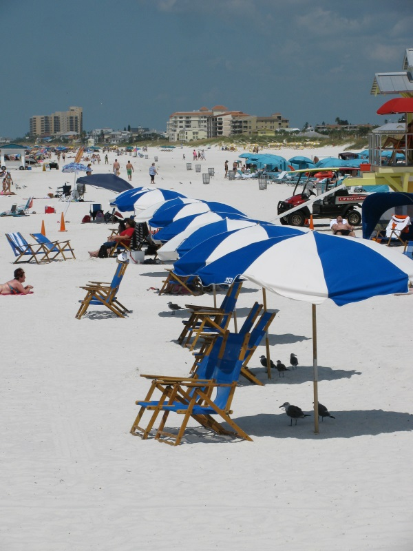 Clearwater Beach Umbrella Rentals