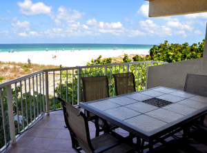 Vacation rental with beach view