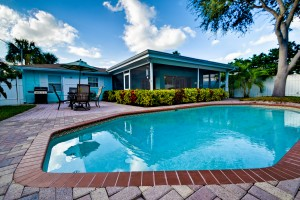 vacation rental with pool