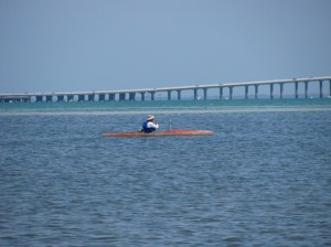 Boating and kayaking at Fort Desoto Florida