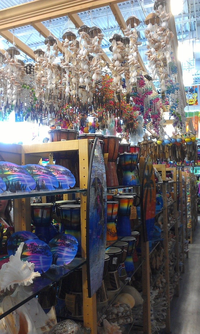 Gift Shoping At Clearwater Beach