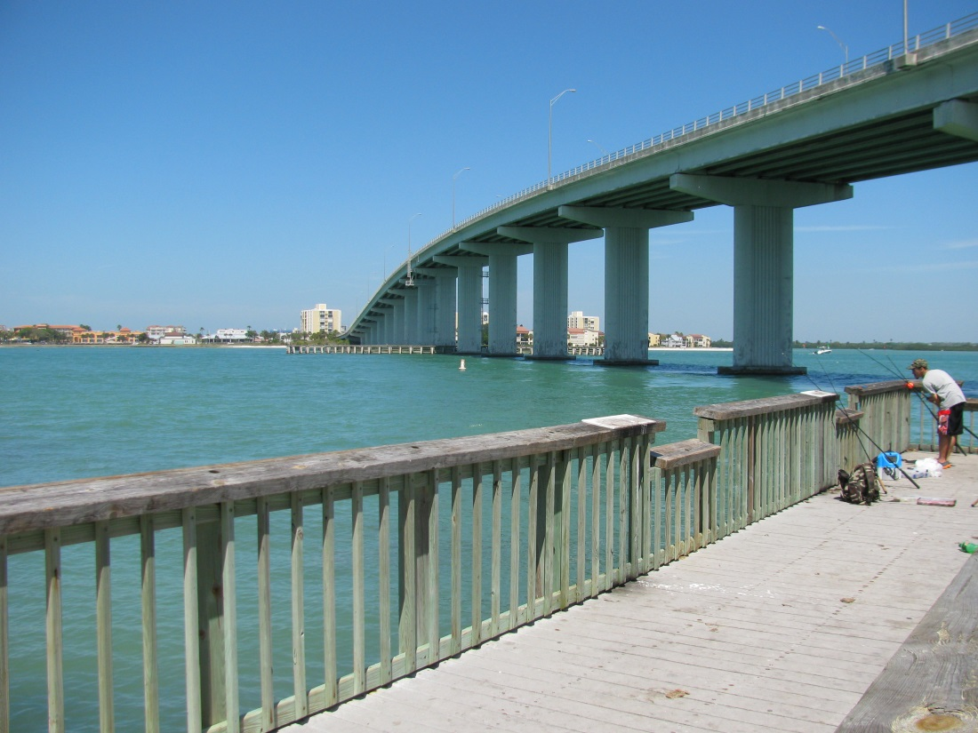 A beach less traveled for Clearwater fishing pier