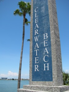 Clearwater Beach entrance