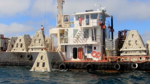 Deploying artificial reefs