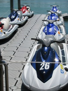 Clearwater Beach Marina jet skis
