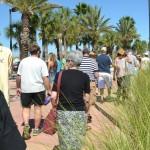 Chalk Walk spectators