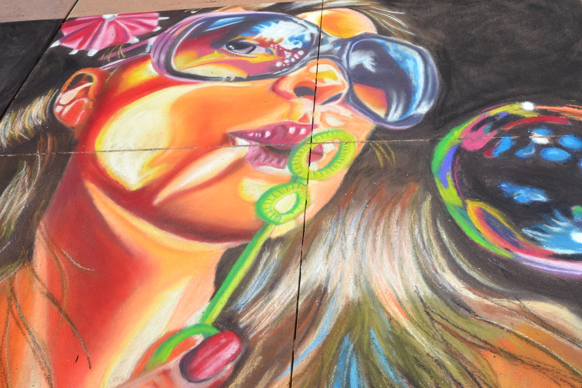 Clearwater Beach Chalk Walk 2014