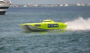 Superboat racing Clearwater Beach