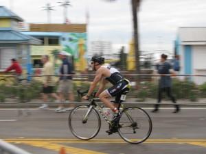 Trirock cyclist
