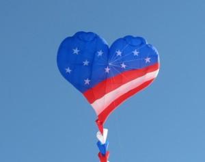 Veterans Day giant kite