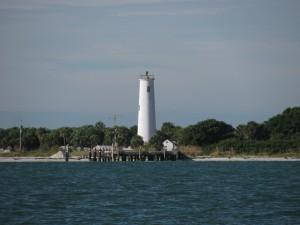 Lighthouse on Egmont Key