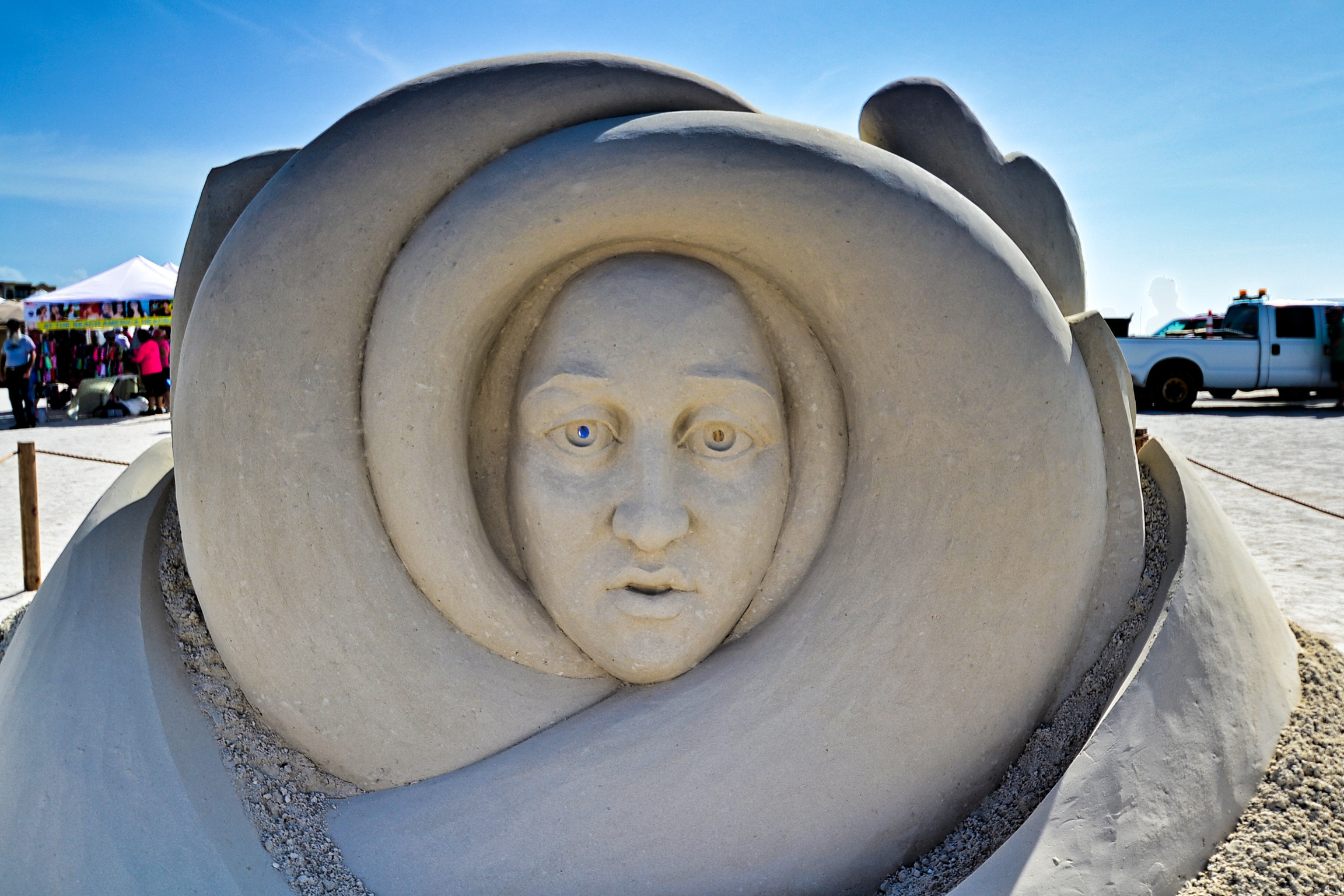 Treasure Island Sanding Ovation Festival Takes Sand Sculpting Art to a Science