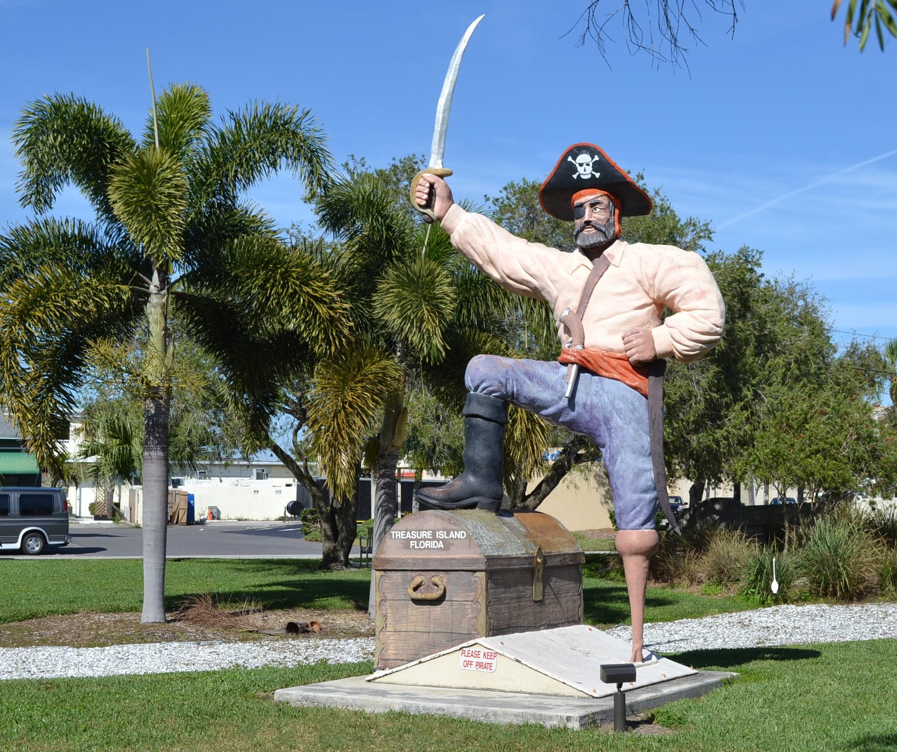 Treasure Island Beach: Shaking Hands With Pirates