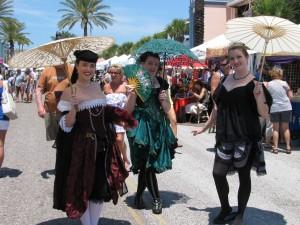 Maidens au port
