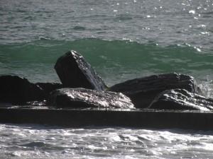 Rock barrier
