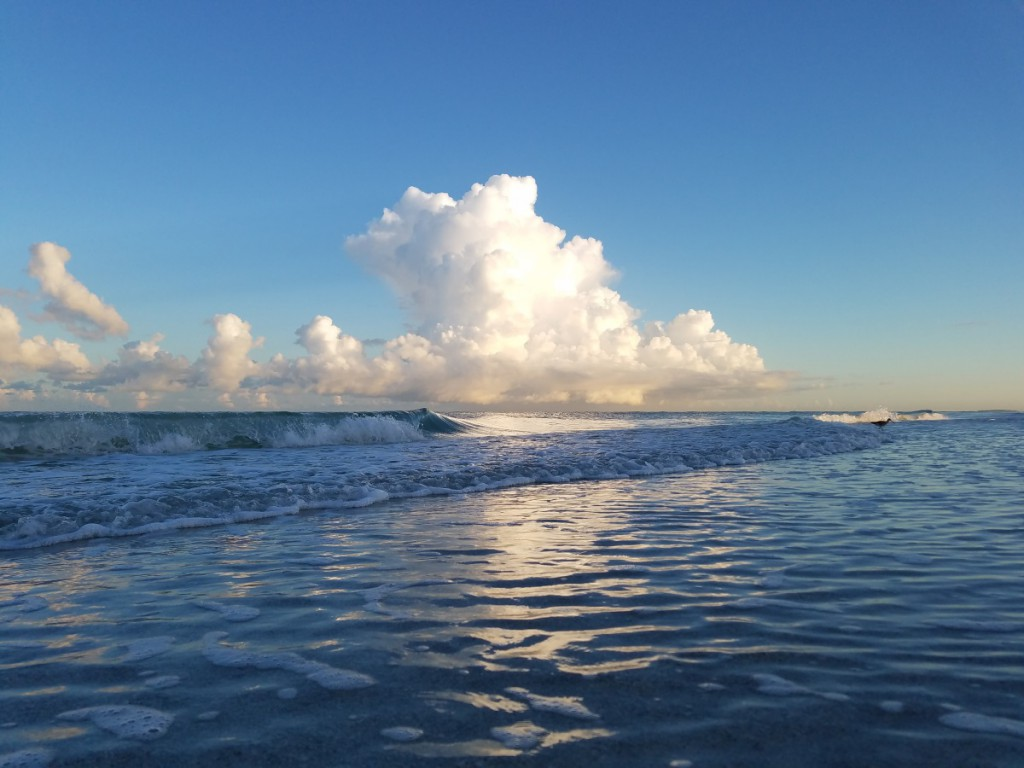 Clearwater Beach morning clouds