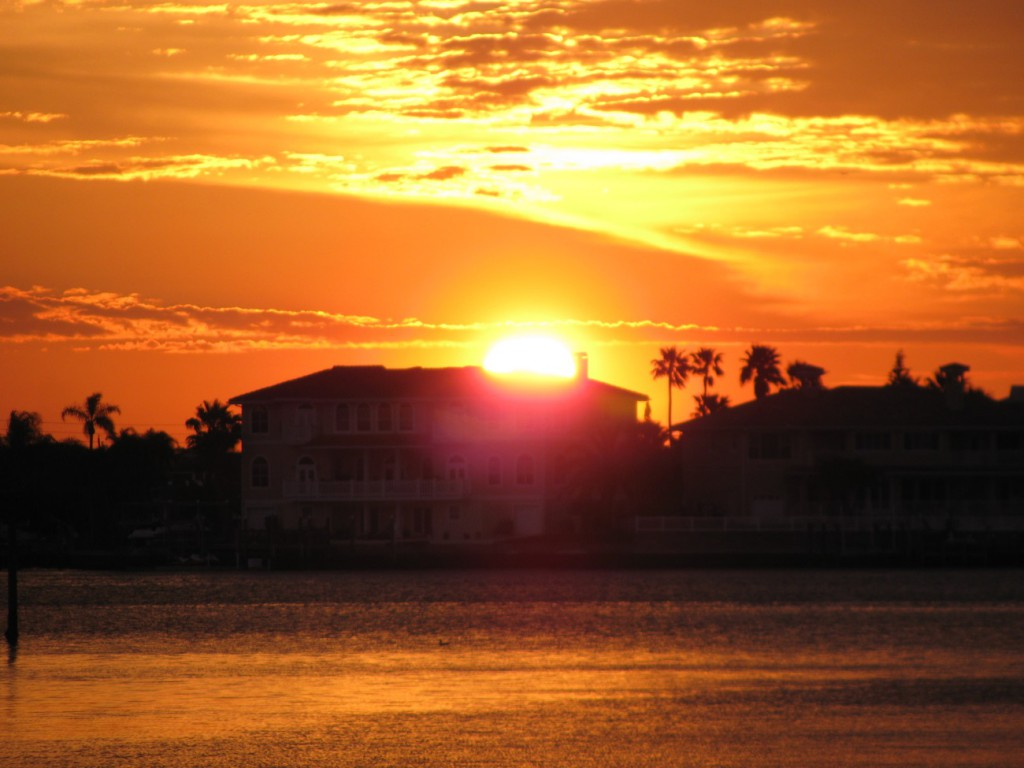 Clearwater Harbor sunrise