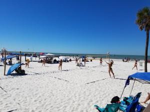 Beach volley ball pier 60