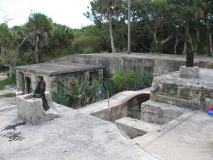 Egmont Key ruins