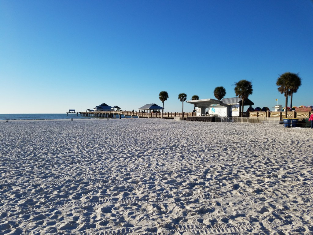 Clearwater Beach January