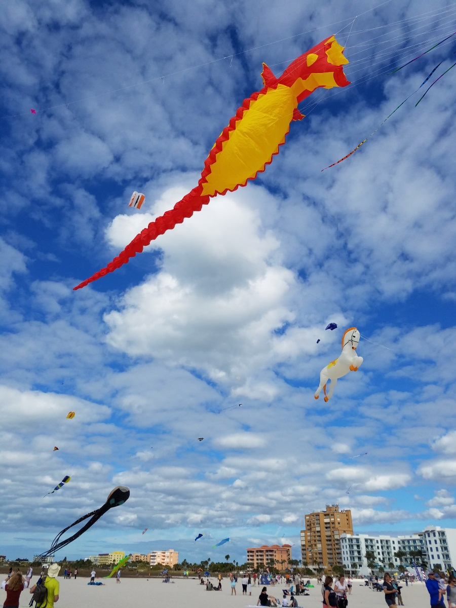 The Joys of the Treasure Island Kite Festival