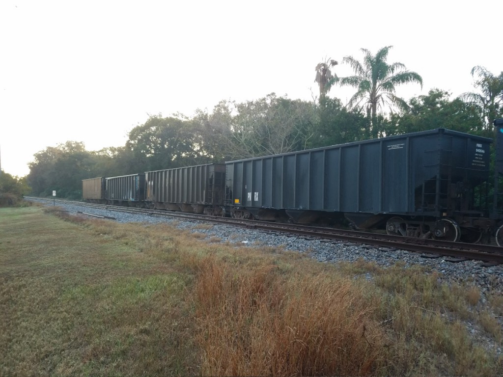 Railroad cars Clearwater
