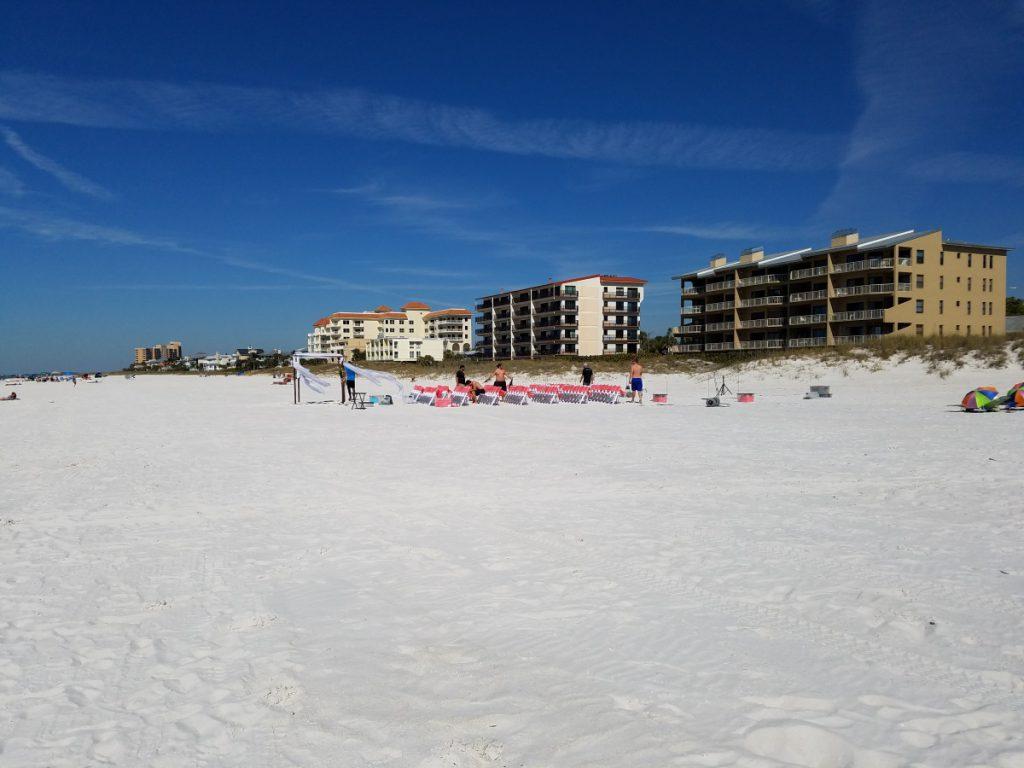 Wide open sands