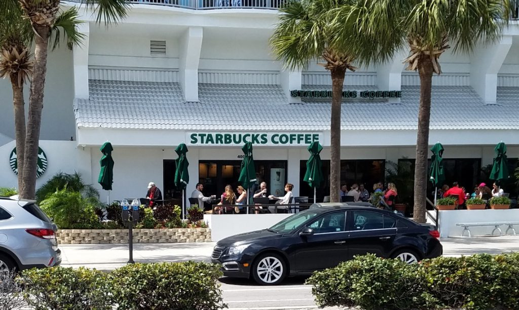 Starbucks Clearwater Beach