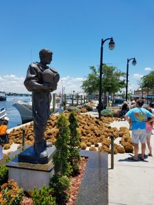 Statue at Tarpon Spring Sponge Dock