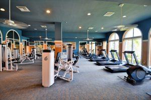 Condo fitness room