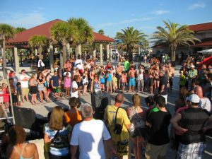 Pier 60 festival crowd