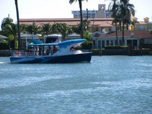 Mega bite tour boat