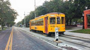 Ybor City trolley