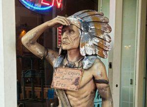Ybor City cigar indian