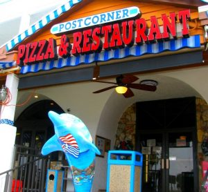 Clearwater Beach pizza