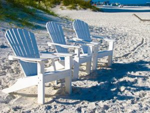 Chairs on Clearwater Beach
