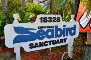 Seabird Sanctuary sign