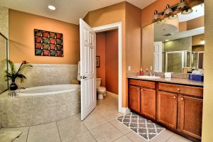 Florida Beach Rentals Bay Harbor master bathroom lavatory