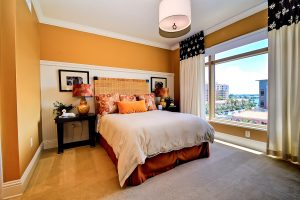 Florida Beach Rentals Sandpearl guest bedroom view
