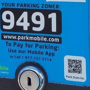 Clearwater Beach parking meter