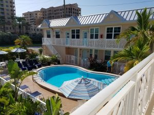 Vacation rental swimming pool